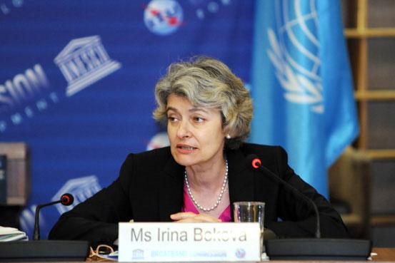 Diretora-geral da UNESCO, Irina Bokova. Foto: UNESCO/Danica Bijeljac
