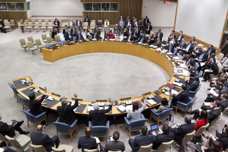Votação do Conselho de Segurança para aprovar uma operação de manutenção da paz das Nações Unidas no Mali a partir de julho de 2013. Foto: ONU/JC McIlwaine