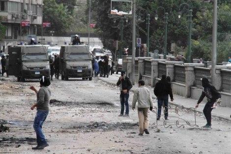 Protesto no Cairo em 2013. Foto: IRIN/Amr Emam