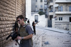 James Foley, Síria, 2012. Foto: Freejamesfoley.org/Manu Brabo